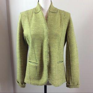 Eileen Fisher Spacedye Merino Wool Blazer Sz S